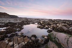 Pink of Dawn (stuleeds) Tags: coast kilkebeach kilvebeach leefilter somerset sunrise