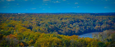 Falls Colors along the Potomac River viewed from Observation Deck at CEB Tower Rosslyn VA (mbell1975) Tags: arlingtoncounty virginia unitedstates us falls colors along potomac river viewed from observation deck ceb tower rosslyn va washingtondc washington dc usa america arlington water aerial view fall autumn color colour colours tree trees leaves leafs