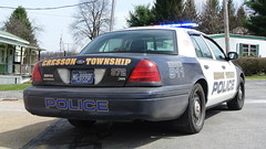 Cresson Township Police Department (Emergency_Spotter) Tags: ford crown victoria p7b setina navy white cvpi small town pa pennsylvania steelies