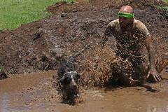 K9 Kryptonite Challenge (Alan McIntosh Photography) Tags: action mud sport play fun friends dog master toowoomba kryptonite