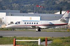 TC-MKA (mduthet) Tags: tcmka cessna ce550 citationbravo aéroportdemarseilleprovence