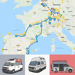 Not a wrapping up because the #seasonneverends but a short summery about the #campervan trips 2018 before the next longer trip which will goes into 2019. The year started in the #vwcamper in Spain and brought us so far: 16 trips 🚐💨 80 nights (MAC2214JV) Tags: instagram busblog vw volkswagen westy t3 westfalia camper vwcamper campervan vanagon vwfurgoneta vanlife furgovw camperlife westylife vanagonlife