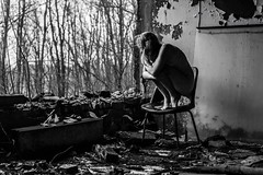 Chernobyl exclusion zone calendar 2019 (shovax42) Tags: chernobyl pripay czarnobyl cernobyl nude bw exclusionzone ghosttown girl woman naked art abandoned opuszczone urbex urbanexploration