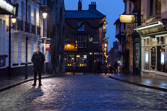 Fred on Bailgate, Lincoln (Mikey Down Under) Tags: greatbritain bailgate city england evening fred lincoln lincolnshire magnacarta pub street streetscape uk public house harthotel night
