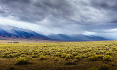 misty curtains (andy_8357) Tags: misty curtains rain mountains san luis valley southern colorado dramatic weather beautiful skyline ridge line cloudy storm stormy sony ilce6000 ilcenex 6000 a6000 alpha e selp1650 pz 1650mm f3556 oss moody outdoors landscape mountainscape emount
