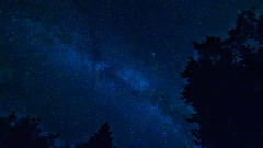 Slovénie J6-14 (Merlin H.) Tags: bohinj montagne paysage slovénie cielétoilé lacdebohinj landscape macro mountains nocturne papillon poselongue reflets