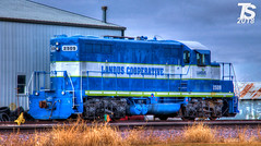 Landus Cooperative 2509 (KansasScanner) Tags: iowafalls ackley iowa bradford train railroad csx cn up iarr