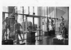 (Emma Morch) Tags: indoors monochrome analogic film statues class fujifilm 35mm