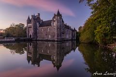 chateau de Trecesson, Bretagne (arnolamez) Tags: chateau trecesson bretagne britanny heurebleue bluehour landscape paysage
