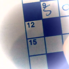 Crossword day (Liz Nicholson) Tags: pictures 2018 118picturesin2018