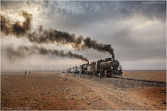 Mid Desert Brew-up (channel packet) Tags: syria steam train railway railroad transport desert oil burner davidhill