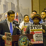 Miguel Bautista for the 28th Ward City of Chicago Aldermanic Candidates Press Conference to Support Civilian Police Accountability Council Chicago Illinois 1-9-19 5574 thumbnail