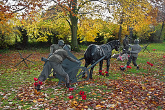 a village remembers 2 (midcheshireman) Tags: soldier cheshire remembrance lowerpeover