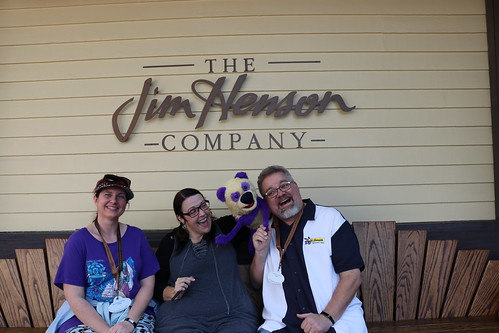 "Scott and Tracey with a Muppet at the Jim Henson Studio • <a style=""font-size:0.8em;"" href=""http://www.flickr.com/photos/28558260@N04/45803282001/"" target=""_blank"">View on Flickr</a>"