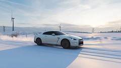 Nissan GT-R Black Edition (ivan_92) Tags: game screenshots vidoegame car racing road snow winter nissan gtr blackedition forzahorizon4 pc 4k