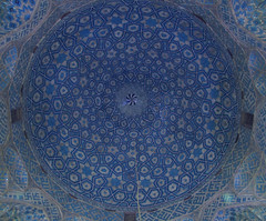 Masjed-e Jāmeh-e (**yukiko**) Tags: masjede jāmehe yazd iran persia moschea rituals blu architecture cupola volta piastrelle architettura azero