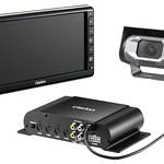 商用自動車向けカメラ表示システムの写真