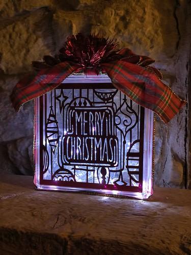 lights off Christmas Craft Block
