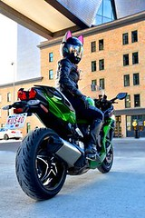Cat Ear Upgrade inst (BikerKarl2018) Tags: cat ear upgrade inst badass motorcycle helmet store biker stuff motorcycles