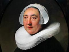 Rembrandt van Rijn. Portrait of Haesje Jacobsdr van Cleyburg. 1634. detail (arthistory390) Tags: rijksmuseum