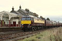 Windsor Castle (feroequineologist) Tags: dalesman railway train hellifield wcrc 57