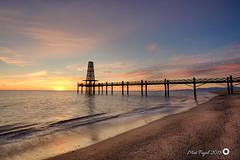 Leucate (Trumfa) Tags: platja beach playa frança france francia leucate sorra sand arena sol sun soleil albada sunrise