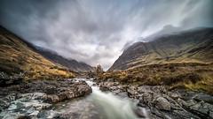 The River Coe - Scotland (petebristo) Tags: landscape scotland waterscape