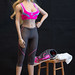 Fire Girl Women's Fitness Wear Set