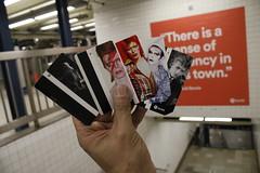 Full House (agent j loves nyc) Tags: ripdavidbowie davidbowie bowie spotify davidbowieishere davidbowieis broadwaylafayettestation mta subway subwaystation nyc newyorkcity davidbowiemetrocards