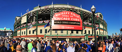 Cubs World Series Champions (George Baritakis) Tags: cubs chicagocubs wrigleyfield wrigley chicago usa baseball people sports