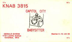 11400040 (myQSL) Tags: cb radio qsl card 1970s