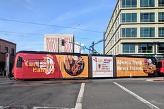 San Diego Trolley (So Cal Metro) Tags: trolley sandiegotrolley metro transit mts sandiego siemens lrt lrv tram lightrail wrap ad advertising promotion marketing s70 sd8 s70us car4012 epicwings