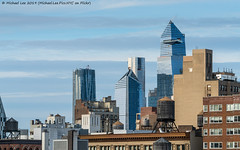 Hudson Yards (20190112-DSC04080) (Michael.Lee.Pics.NYC) Tags: newyork hudsonyards architecture cityscape skyline skyscraper construction eastvillage rooftops sky clouds sony a7rm2 fe70300mmg