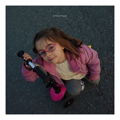 Laida Has the Street (Iker Merodio | Photography) Tags: laida scooter pink glasses girl street ricoh gr ii 2 bilbao bizkaia biscay basque country etxebarria park