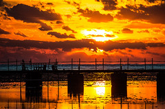 Jetty colors (werner boehm *) Tags: werner boehm sunrise
