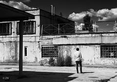 The Way Forward (jip_and_elsewhere) Tags: urbex urbanexploration urban abandoned explore blackwhite black bw white