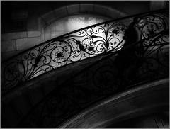 dentelle de fer (kalzennyg) Tags: paris musée escalier stairs kalzennyg museum
