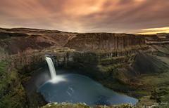 Palouse Falls (Eric Steele Photography) Tags: palouse fall palousefalls waterfall washington d7200 nikon landscape color eastern orange water