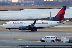 N307DQ | Boeing 737-732/W | Delta Air Lines (cv880m) Tags: newyork kennedy jfk kjfk aviation airliner airline aircraft airplane jetliner airport n307dq boeing 737 73g 737700 737732 winglet dal delta deltaairlines widget