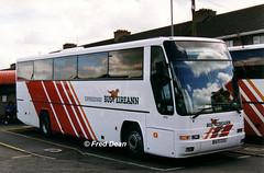 Bus Eireann VP91 (99D41332). (Fred Dean Jnr) Tags: buseireann vp91 99d41332 limerickbusstation june1999 t70ham volvo b10m plaxton excalibur buseireannroute51
