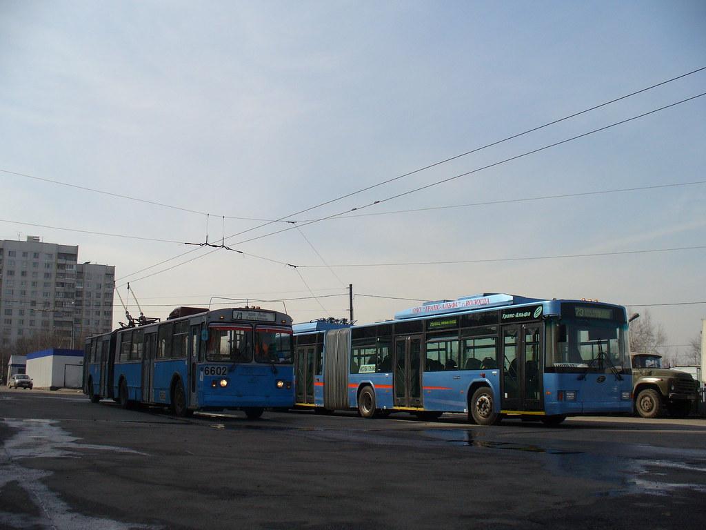 фото: 6602_20060406_115 Moscow trolleybus ZiU-6205