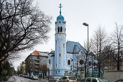 Bratislava: Blue Church (Amir Nurgaliyev) Tags: bratislava