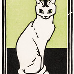 Sitting cat (1917) by Julie de Graag (1877-1924). Original from The Rijksmuseum . Digitally enhanced by rawpixel. thumbnail