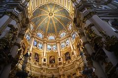 Santa Iglesia Catedral Metropolitana de la Encarnación de Granada (Coquine!) Tags: christianleyk spain españa spanien andalusia granada cathedral kathedrale vitruvianorder architecture baroque dome apse apsis barock church kirche