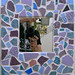 """""""Reflections"""" by Roxanne G, mosaic, $50.00"""