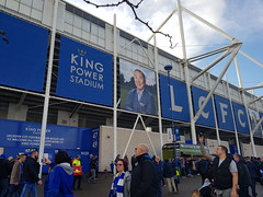 Outside the Family Stand (lcfcian1) Tags: leicester city burnley lcfc bfc king power stadium football sport epl bpl premier league leicestercity burnleyfc leicestervburnley
