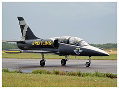 Breitling Jet Team 2017 (Aerofossile2012) Tags: breitling breitlingjetteam dijon longvic ba102 meeting airshow aerovodochody avion aircraft aviation patrouille meetingdefrance 2017 albatros l39