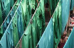 dhobi wallah (Dean Forbes) Tags: mumbai india dhobighat worker laundry