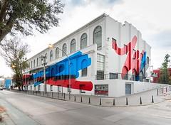 elian chali's vibrant mural transforms a waterfront heritage building in argentina (alsfakia) Tags: wisdom by alexandros g sfakianakis anapafseos 5 agios nikolaos 72100 crete greece 00302841026182 00306932607174 alsfakiagmailcom