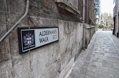 Alderman's Walk (Dun.can) Tags: aldermanswalk ec2 cityoflondon stbotolphwithoutbishopsgate bishopsgate church dashwood 17thcentury sign london